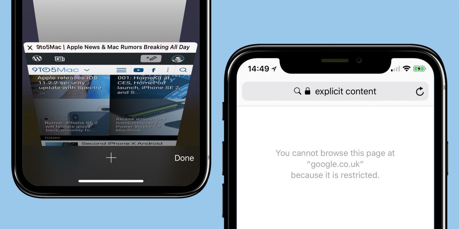 La fonction de recherche avec Safari