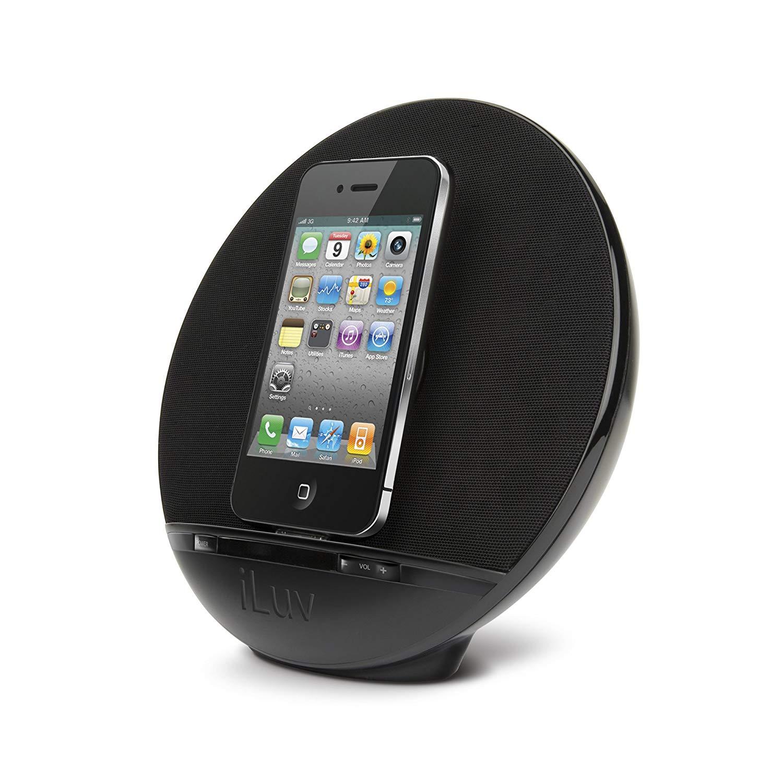 Accessoire iPhone : La station d'accueil Haut Parleur iLuv